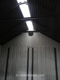 outdoor storage buildings costco. lifetime products resin outdoor storage shed costco 5 buildings