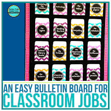 Classroom Job Chart Printable Free Printable Classroom Jobs Chart Display And Ideas Clutter