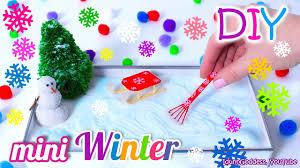 how to make a miniature winter zen garden diy stress relieving desk decoration you