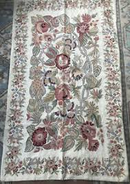 embroidered wool rugs ebay