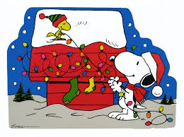 Laminated Snoopy Christmas Wall Decor | Charlie brown | Pinterest ...