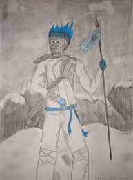 A drawing of Zane I made from season 11's Ice chapter. I know I'm not the  greatest at drawing, and I also know most fans, including myself, can agree  that season 11