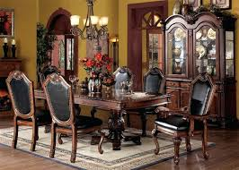 round formal dining room table. Used Formal Dining Room Sets Chateau Table In Cherry By Acme W Options Round G