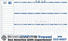 At A Glance Yearly Calendars Premium Plastic Write On Wipe Off Year At A Glance Wall
