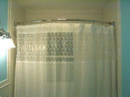curved shower curtain rod modern brilliant bathroom curved shower rods with rounded curtain throughout rod curved curved shower curtain rod
