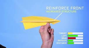 paper airplane aerodynamics explained