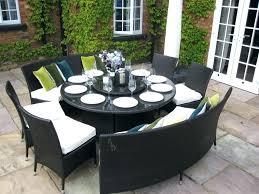 circular outdoor seating innovative round patio dining sets round table outdoor dining sets inside circular outdoor