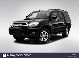 2009 Toyota 4Runner Sport in Black - Front angle view Stock Photo ...