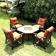 pit outdoor furniture set fire pi patio furniture