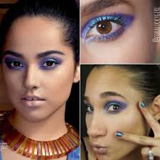 becky g inspired purple teal smokey eye makeup tutorial video for