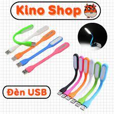 Đèn led cắm cổng USB dẻo siêu sáng kết nối vào máy tính laptop hoặc sạc dự  phòng Kino Shop
