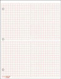4 Quadrant Graph Paper 1 4 Sq Graph Paper