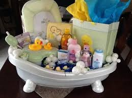 baby shower bathtub gift ideas