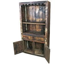 Fancy Rustic Wine Cabinet Modular Rustic Wooden Wine Cabinet