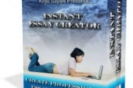 instant essay creator software included project instant essay creator software included project marketplace