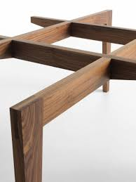 autoreggente wood and glass dining table horm