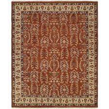 spice colored area rugs allegro beige hand knotted wool rug 4 x 6 on