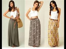 Long Skirt Patterns Inspiration How To Make A Maxi Skirt In 48min Easy For Beginners Sewing YouTube