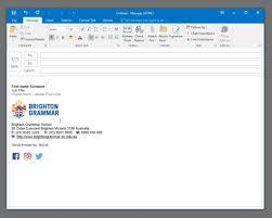 Email Signature Email Signatures Brightongrammar