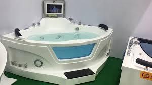 bathtub with tv beautiful woma q415 good corner whirlpool massage bathtub 1 5x1 5m with