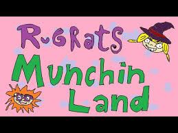 rugrats munchin land right in the childhood
