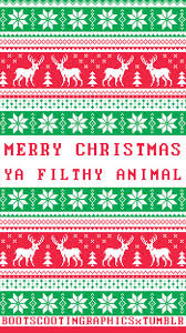 christmas sweater wallpaper tumblr. Unique Wallpaper Merry Christmas Ya Filthy Animal Tumblr Phone Wallpaper On Sweater L