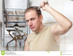 Heater Fixer Electric Water Heater Repair Stock Images Image 25261854