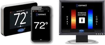 carrier commercial thermostat. the carrier connect thermostat makes it easy for building operators to manage comfort in their commercial o