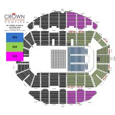 Crown Center Of Cumberland County Seating Chart 95 7 Wkml Stars And Guitars Crown Complex