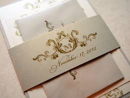 Traditional Elegant Wedding Invitations Vertabox Com