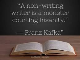 Image result for writers who don't write become monsters