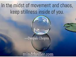 Stillness Quote Mind Thriller Interesting Stillness Quotes