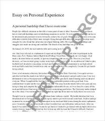 awesome personal background essay skiparty  personal essay
