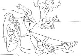 Small Picture Paul Blinded on the Road to Damascus coloring page Free