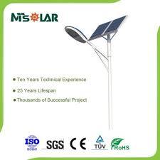 Solar Double 38W LED StreetParking Lot Light With PoleSolar Street Lights Price List