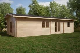 Holzhaus Murcia 2 Schlafzimmer 47 M2 11 X 45 M 70 Mm