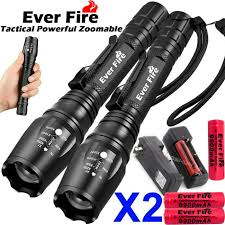 Rechargeable Torch Light Price 350000lm T6 Led Zoom Rechargeable High Power Torch Flashlight Lamp Light Charger