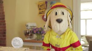 sparky the fire dog robot. sparky the fire dog® shows how to find out age of a smoke alarm - youtube dog robot n