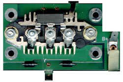 diode board the diode board is an integral part of the electrical charging system on the r bikes it is located inside the front engine case and is subject to heat