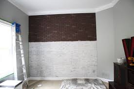 diy faux brick wall panels