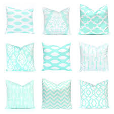 Etsy Throw Pillows Mint Green Pillow Covers Decorative Pillow Covers Mint