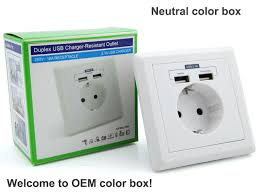 cooper wiring devices 16 amp leishen usb wall outlet sockets for cooper wiring devices 16 amp leishen usb wall outlet sockets for and some other euro countries in outlets from home improvement on