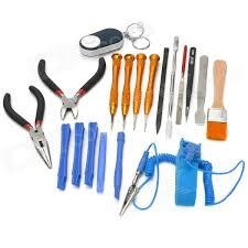 iphone repair kit. repair \u0026 maintenance tool kit for iphone + more - multicolored iphone e