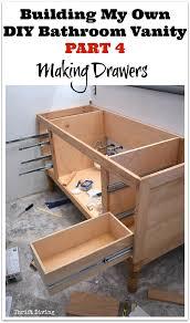 Building Bathroom Vanity Build A Diy Bathroom Vanity Part 4 Making The Drawers