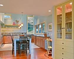 Inspiration for a contemporary u-shaped kitchen remodel in Seattle with  shaker cabinets, medium