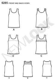 Tank Top Sewing Pattern