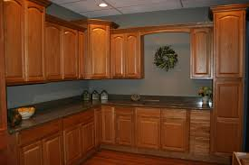 Contemporary Maple Kitchen Cabinets And Wall Color Paint Colors With Honey Decorating
