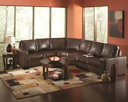 dark brown leather couches. Howard Dark Brown Leather Sectional By Coaster - 503441 Couches