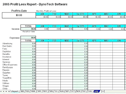 Monthly Profit And Loss Statement Template Excel Income Statement Template Derbytelegraph Co