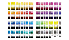 Pantone Colour Chart 2019 Pantone Colors What They Are And How To Use Them
